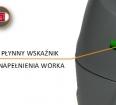 TASKI aero 15 - Płynny wskaźnik napełnionego worka