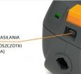 Możliwość podłączenia elektroszczotki
