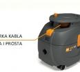 Szybka i funkcjonalna zwijarka kabla w odkurzaczu