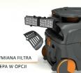 System filtracji w TASKI aero 15 Plus