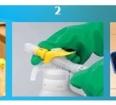 Korzystanie z preparatu do mycia podłóg