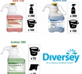 Różne środki czystości Diversey